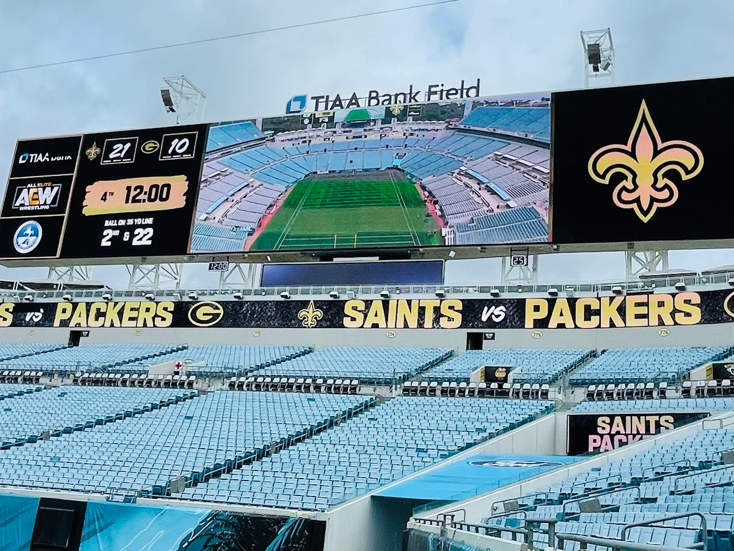 Jaguars, Jacksonville embrace the Saints and Packers with open arms