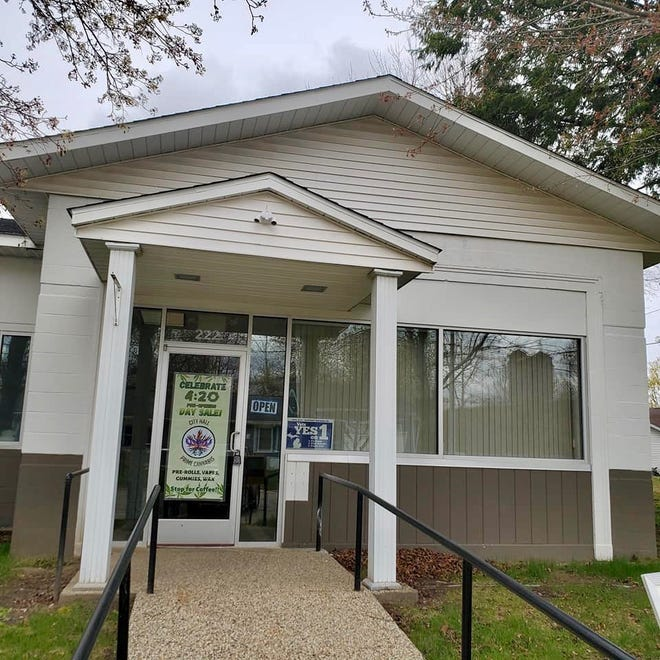 Patt Dewenter has opened amarijuana dispensary in Fennville's former city hall. The marijuana side of the business launched in mid-August, but customers have been able to shop CBD products since April 20.