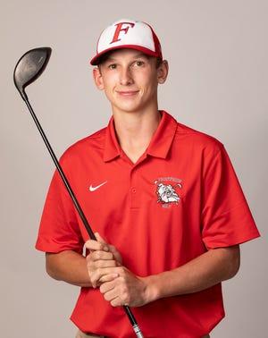 Frostproof senior golfer Lane Revell.