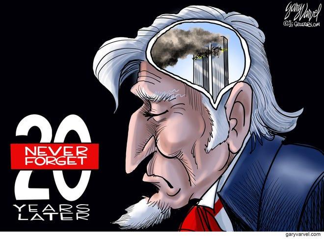 Today's editorial cartoon Sept. 11 2021