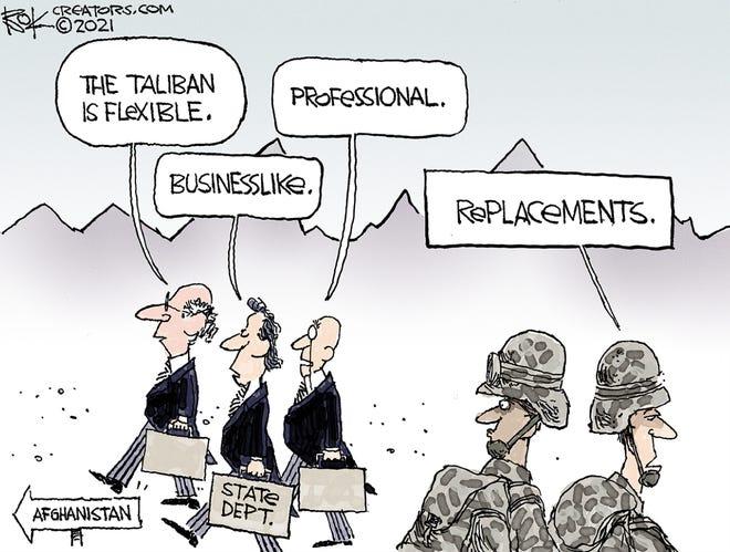 Today's editorial cartoon Sept. 12 2021