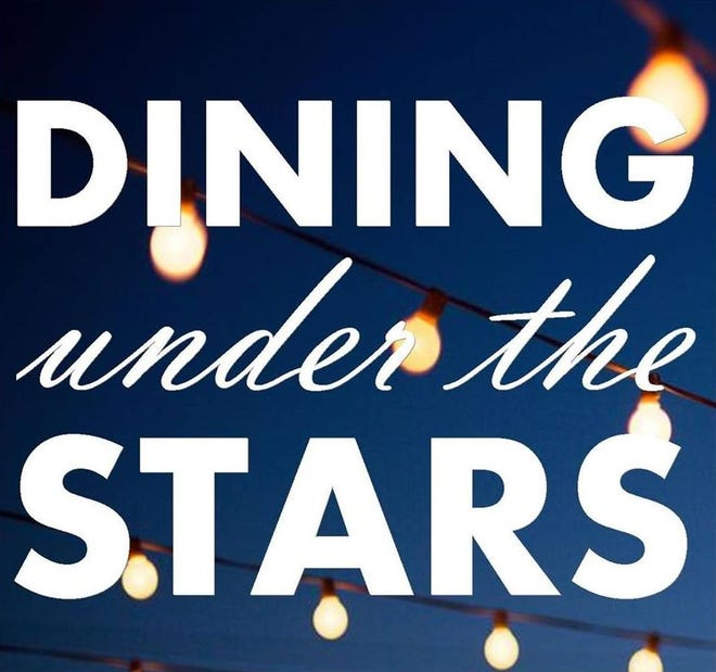Dining Under the Stars will be held Wednesday, Sept. 22 from 6-10 p.m. (with a rain date of Thursday, Sept. 23 from 6-10 p.m.).