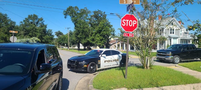 DeFuniak Springs police responded to First Baptist Church Preschool ON Friday morning after a homeless man allegedly grabbed a young girl being dropped off.