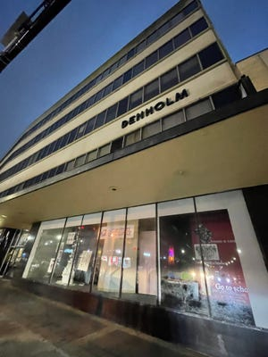 The Denholm building was once a trendy city shopping center in the 1980s. It currently houses  a number of nonprofit organizations.