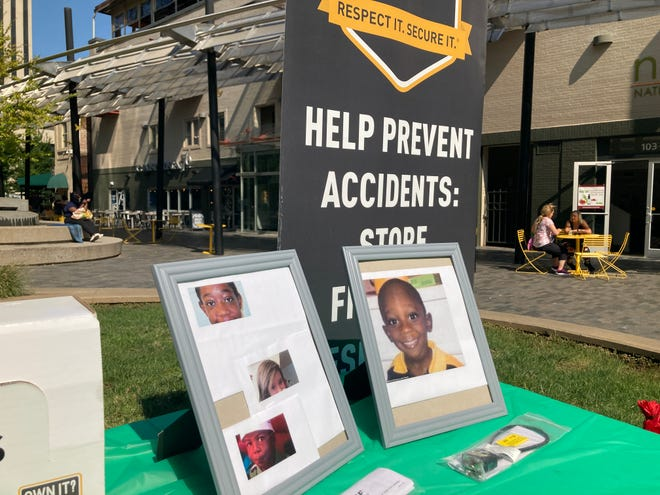 On Sept. 10, community activist Jack Logan shared stories about children in South Carolina who were victims of gun violence.