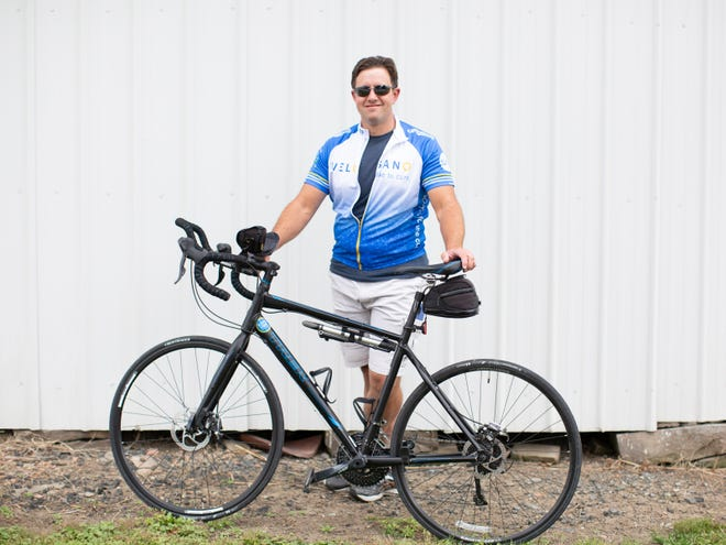 Jason Radel will ride in the Cleveland Clinic's 2021 VeloSano bike ride for cancer research.