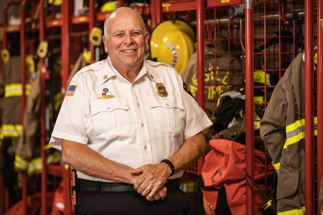 Kevin Hoban, now the fire chief for the Mesilla Fire Department, deployed to New York City in October 2001, following the Sept. 11 attacks. Hoban's job was to medically support the first responders who were still sifting through the burning debris of the collapsed towers.