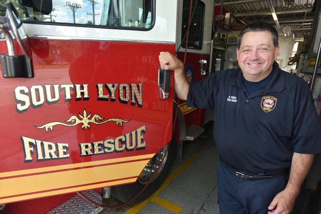 Robert Vogel is retiring as South Lyon Fire Chief after a bit more than 3 years in the position and about 33 years in the business.