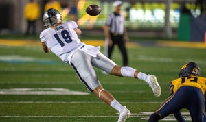 Tight end Cole Turner led Nevada's pass-catchers last week at Cal, totalling seven receptions for 75 yards.