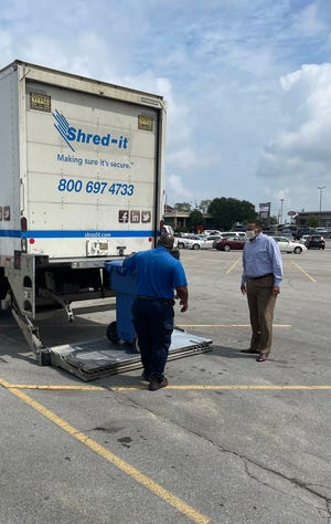 The Shred-It event will take place from 9-11 a.m. Sept. 11, 2021.