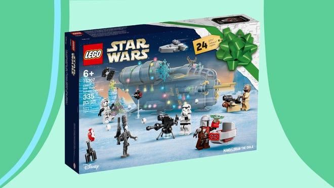 The 2021 Lego Star Wars Advent Calendar is Mandalorian-themed.