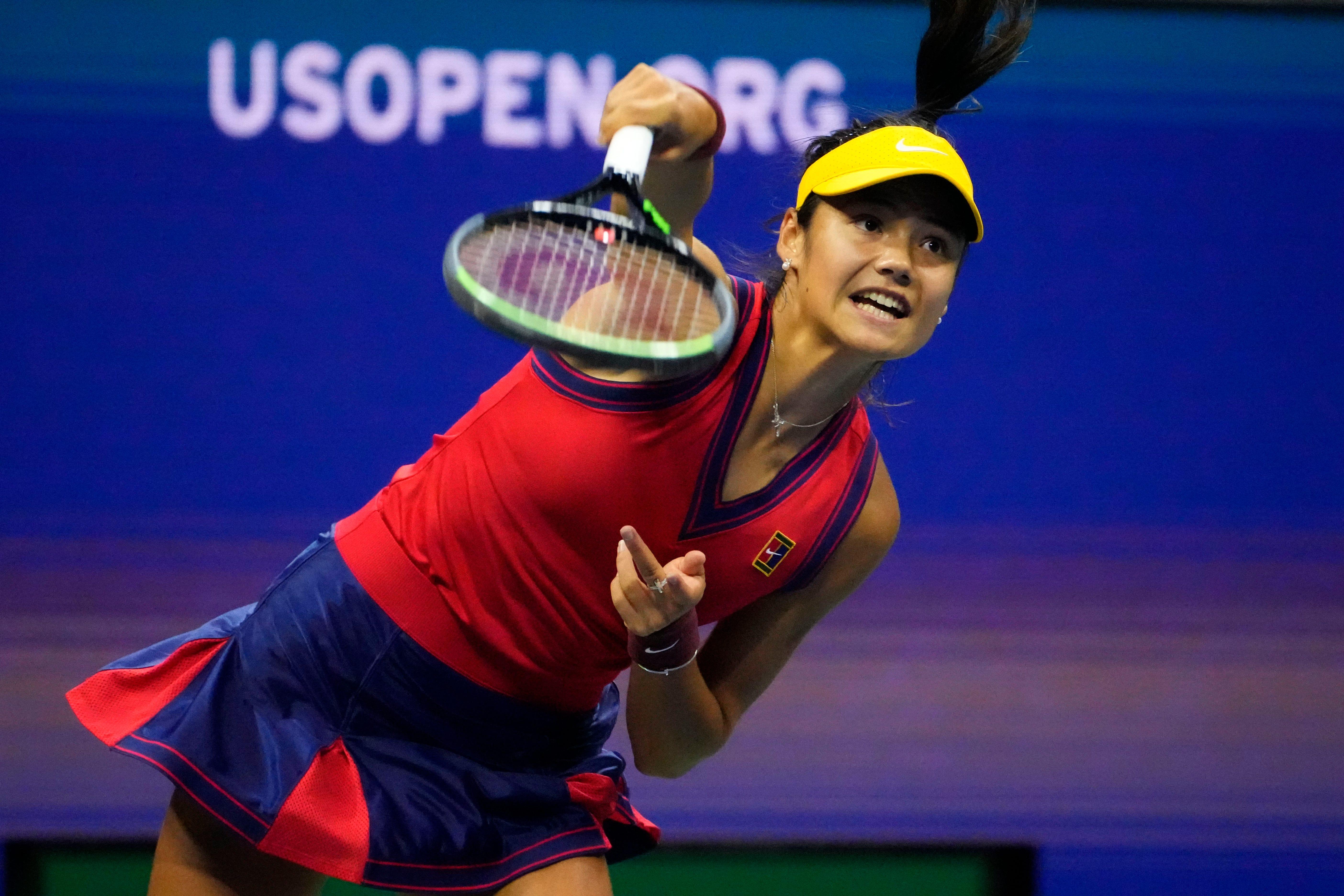 US Open: Emma Raducanu stifles Maria Sakkari to set up all-teenage women s final