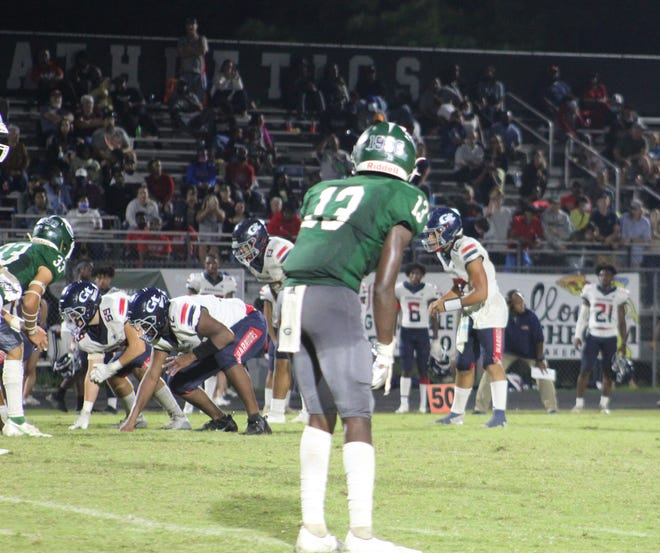 Grovetown topped Greenbrier 34-16 on Friday to improve to 2-1 on the season. The win was the first for new Warriors coach Cory Evans.