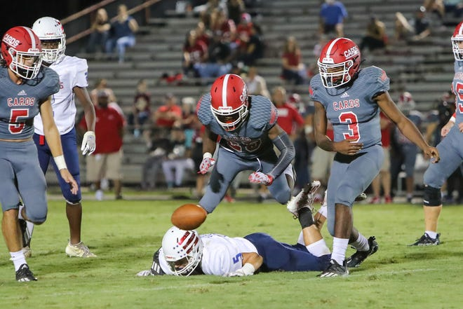 Jacksonville defeated West Carteret 48-7 on Friday night to improve to 3-0.
