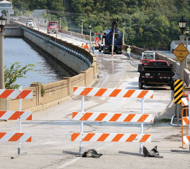 The deterioration of the 90-year-old bridge structure attached to the dam is at a point where this work is necessary, according to MoDOT.