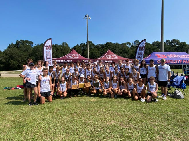 Niceville girls placed first and boys placed second at the Gulf Coast Stampede in Pensacola.