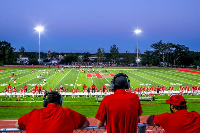 East Providence debuted its new field on Friday, and while the Townies lost to Barrington, 7-6, this night was still a big win for the city.