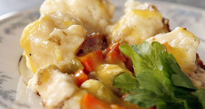 Homestyle Chicken and Dumplings
