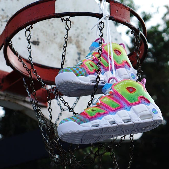 'Fresh Prince of Bel Air' sneakers by Jimmy Butcher