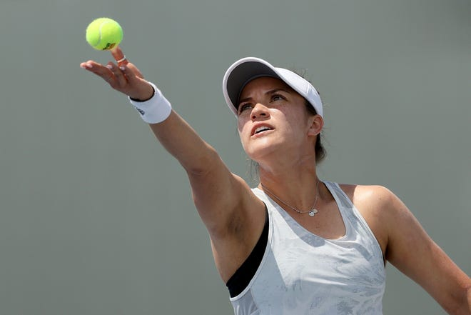 Desirae Krawczyk is in a position to capture a third Grand Slam title this weekend at the US Open in New York.