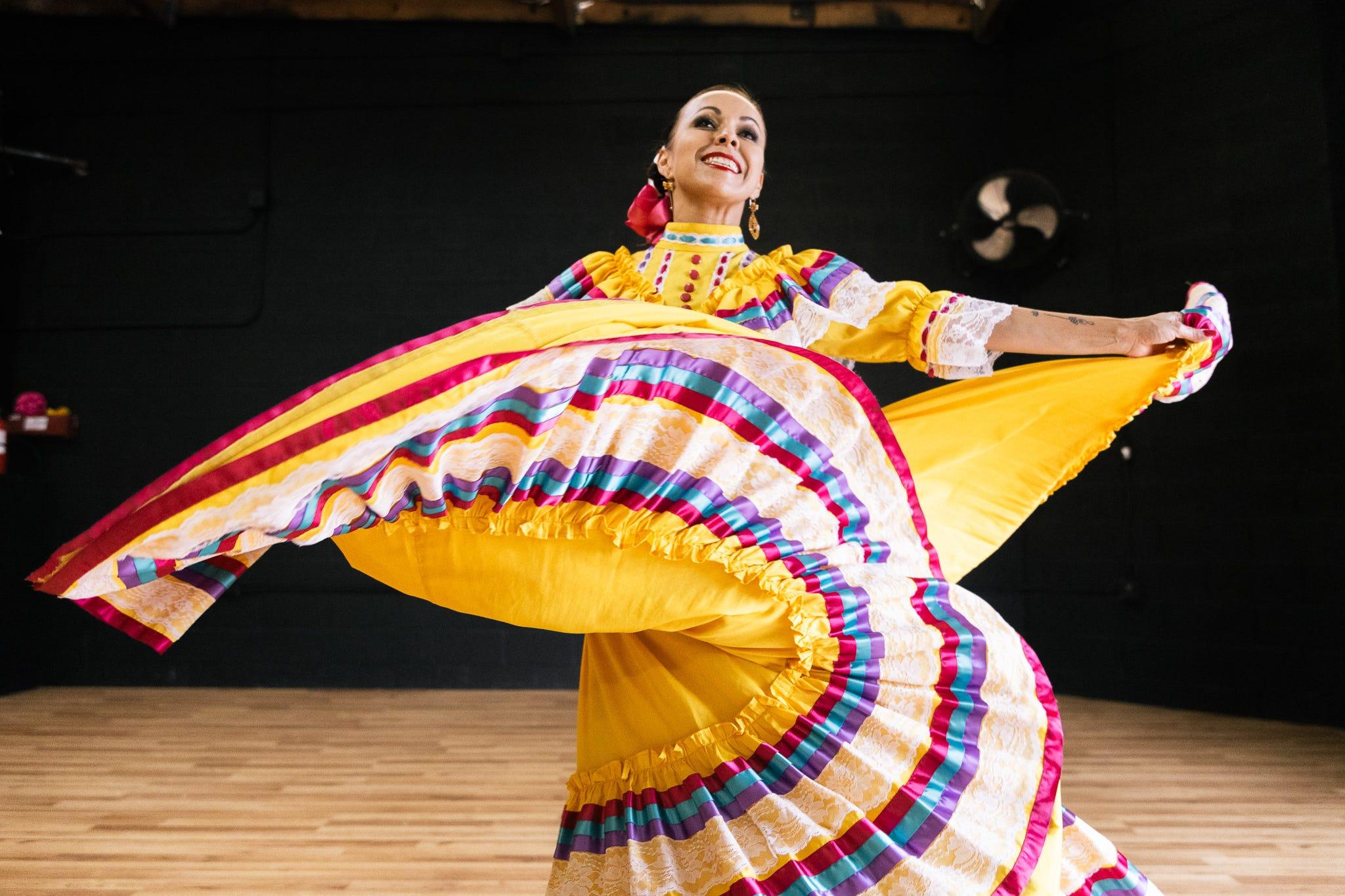 Vanessa Ramírez, instructor of Ballet Folklórico Quetzalli in Chandler, has been teaching the dance for decades.