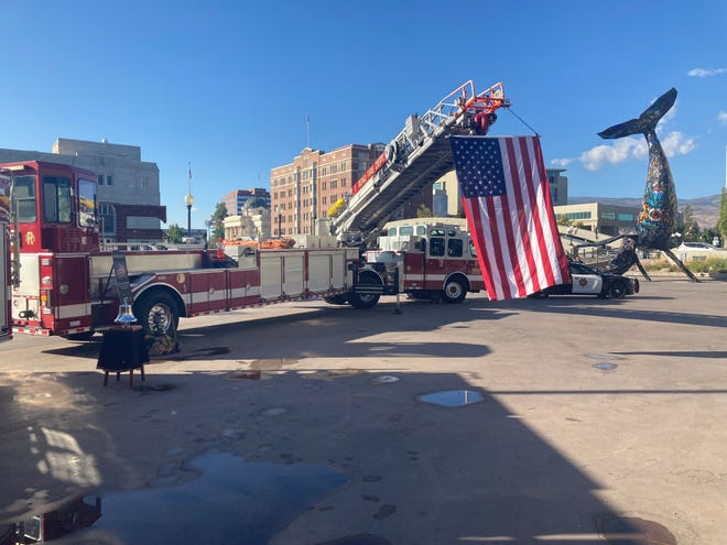 20th anniversary of 9/11 honored in Reno City Plaza