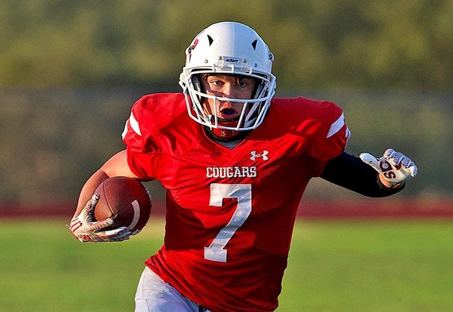Christoval High School's Josh Fava, shown in a file photo, rushed for 176 yards and three touchdowns in a 33-14 win over Sonora.