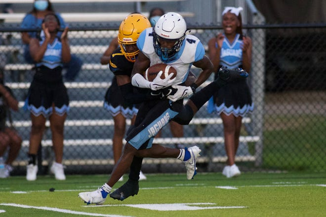 Rickards defeated Gadsden County in the Soul Bowl, 43-36, on Sept. 10, 2021 at Gene Cox Stadium.