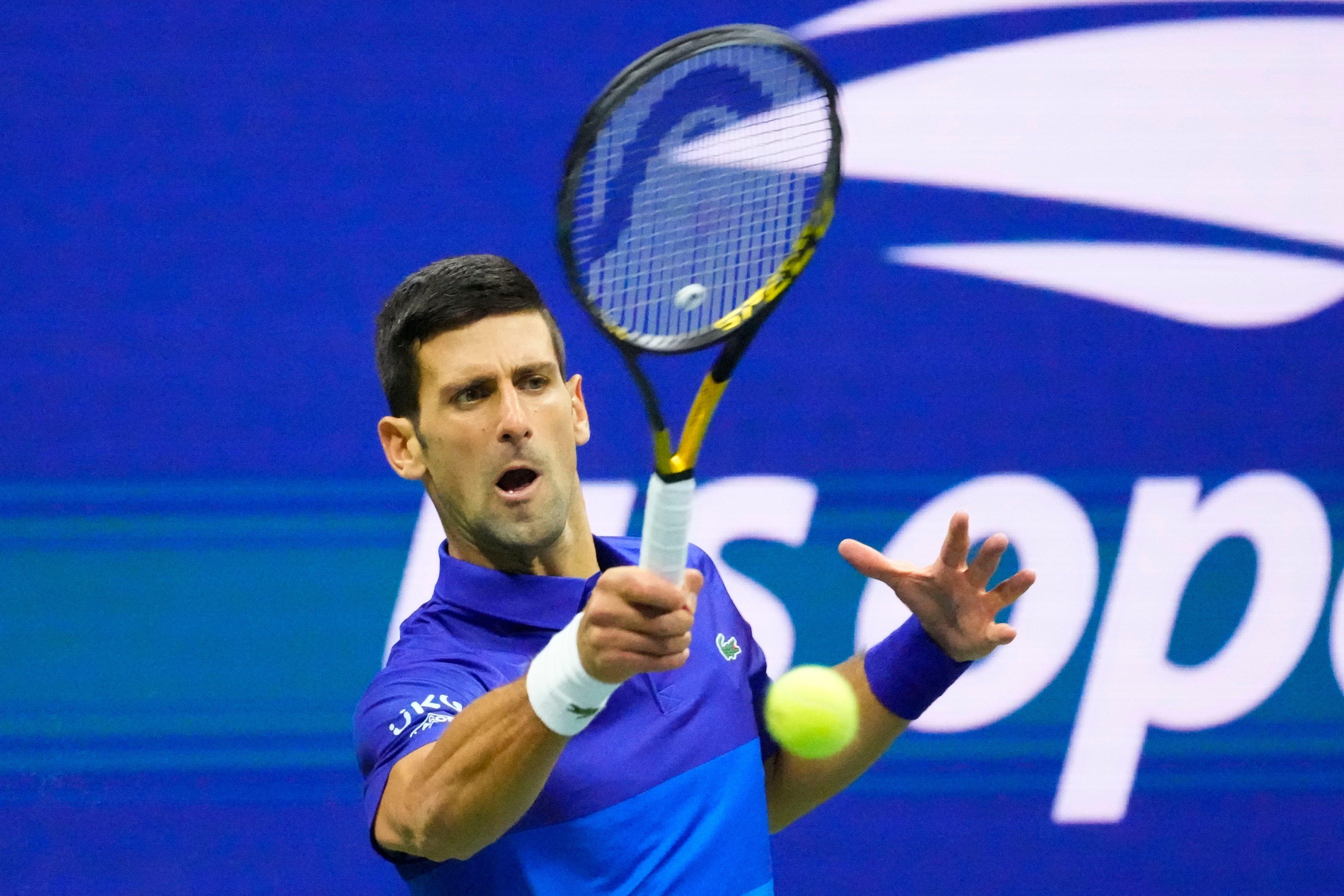 Novak Djokovic tops Alexander Zverev to reach US Open men s final, one win from calendar Grand Slam