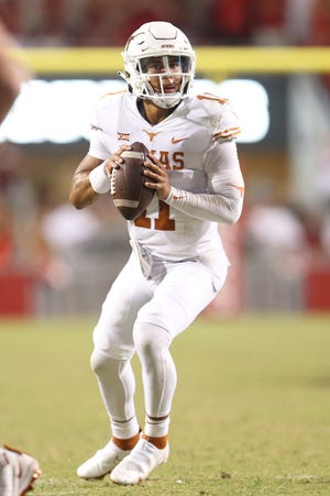 Casey Thompson was named the starting quarterback for Texas' game versus Rice Saturday.