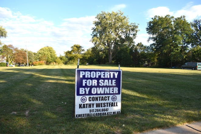 The site of the former McKinley Elementary School property in Adrian, 726 Elm St., is pictured last week. Adrian Public Schools officials received some positive news in August that the district's former property just might be closer to being purchased.