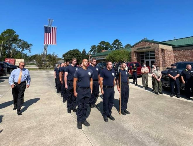The Prairieville Fire Department held a September 11 Memorial Program at their main station on Hwy 73.