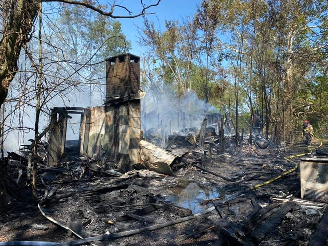 The Prairieville Fire Department responded to a residential fire on Hwy. 929 near Parker Road.