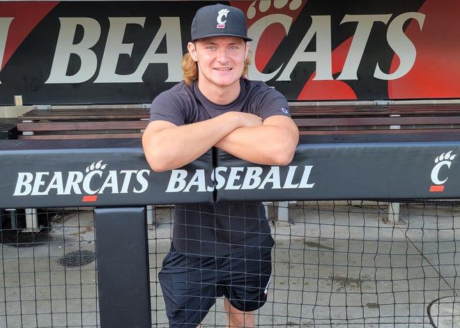 Monroe High junior Noah Miller has made a verbal commitment to the University of Cincinnati baseball team.