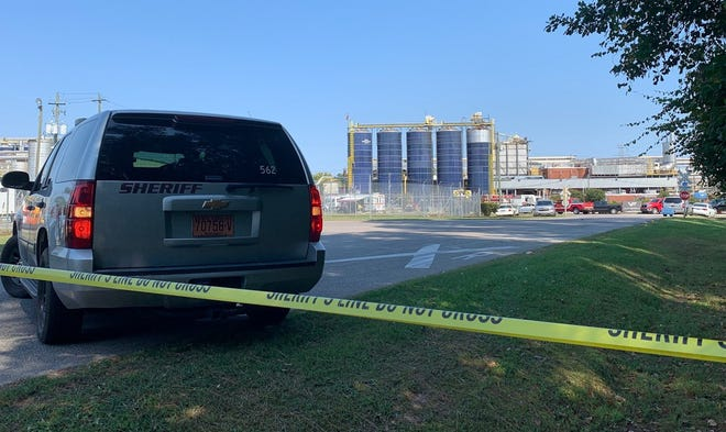 Detectives are trying to determine how two people died Sunday at the Valley Proteins plant on Industrial Drive near Fayetteville.