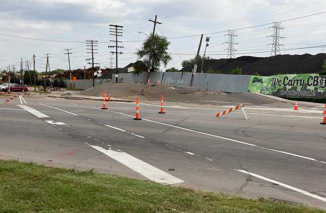 Les rues West Fort et Dearborn sont bloquées suite à une explosion apparente.
