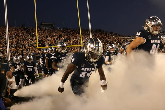 A big win Saturday over Idaho State helped Nevada move up in both the AP and USA Today national college football polls.