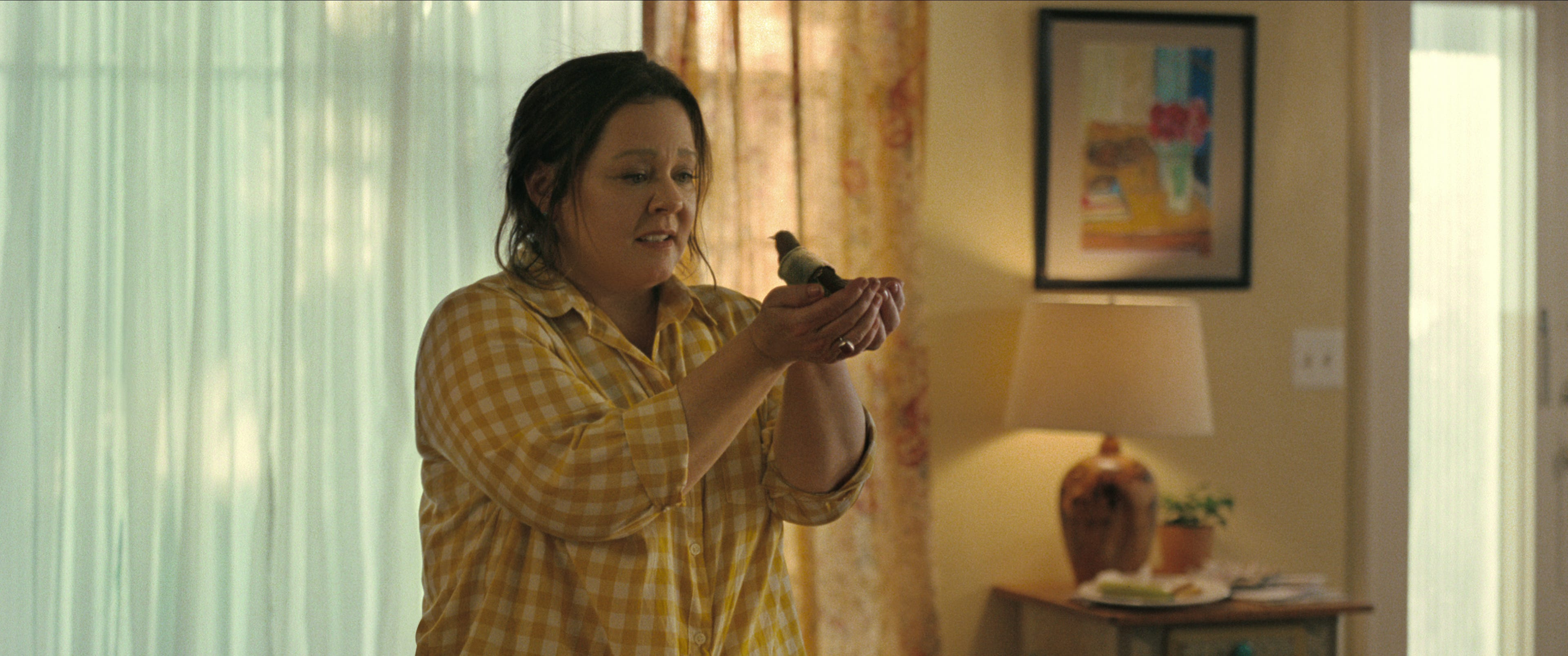 I cry at the drop of a hat : Melissa McCarthy tackles tragedy inNetflix s  The Starling