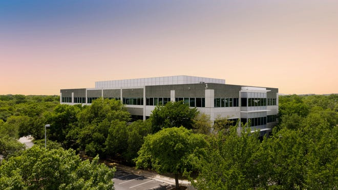 Riata Corporate Park, an eight-building technology campus in Northwest Austin, has been sold by private equity giant KKR for $300 million. [STATESMAN FILE PHOTO]