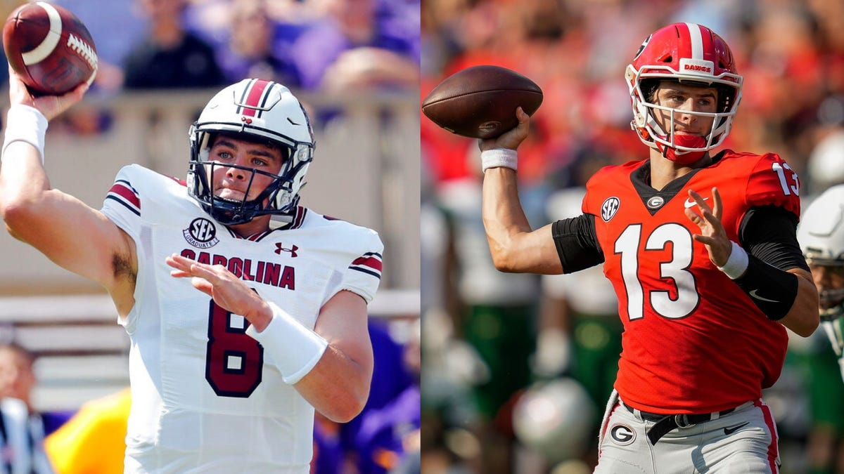 Well-traveled college careers of QBs Stetson Bennett and Zeb Noland cross paths Saturday