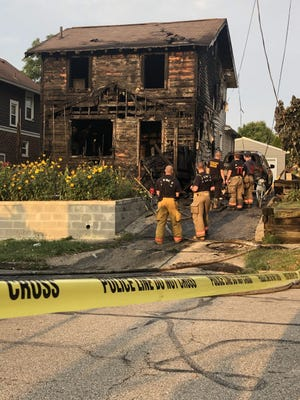 Five people — two adults and three children  — died in a house fire early Monday on Linden Avenue in Akron's North Hill neighborhood.
