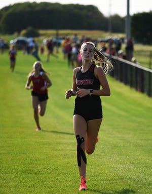Roland-Story's Lauryn Kilstofte placed second individually at both the Belmond-Klemme and Gilbert Invitational cross country meets last week.