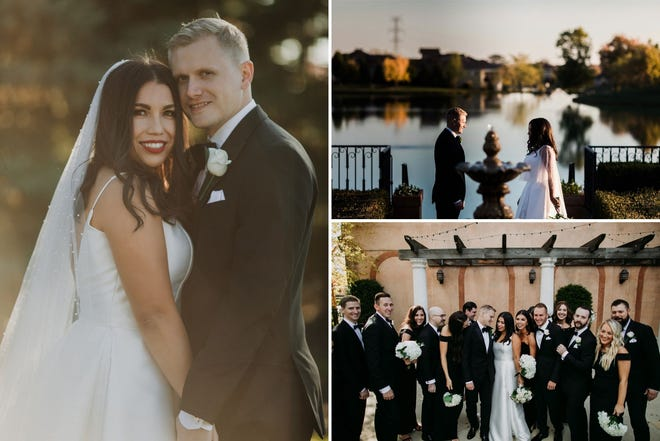 Abigail Swihart-Valentine and Michael Valentine married on Oct. 16, 2020