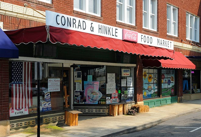 Conrad & Hinkle Food Mart has been in uptown Lexington for over 100 years