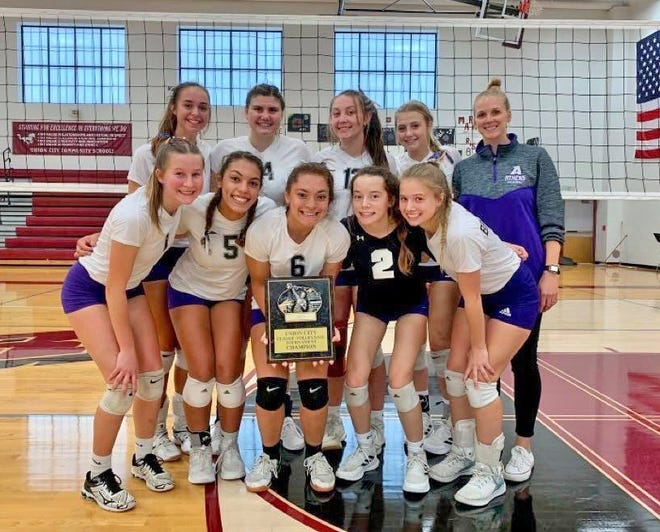 The Athens Lady Indians took the champions of Saturday's Union City Volleyball Classic