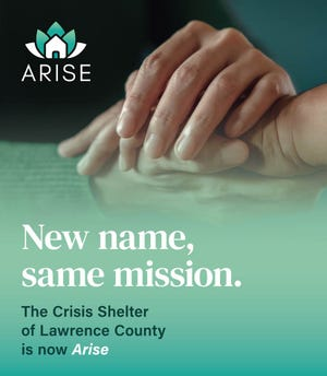 The Crisis Shelter of Lawrence Lawrence is now called Arise. The shelter recently celebrated its 40th anniversary.