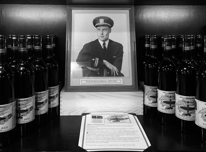 Frederick Spencer Johnson started the Johnson Estate Winery 60 years ago in 1961, and his family is celebrating with a winemakers dinner.