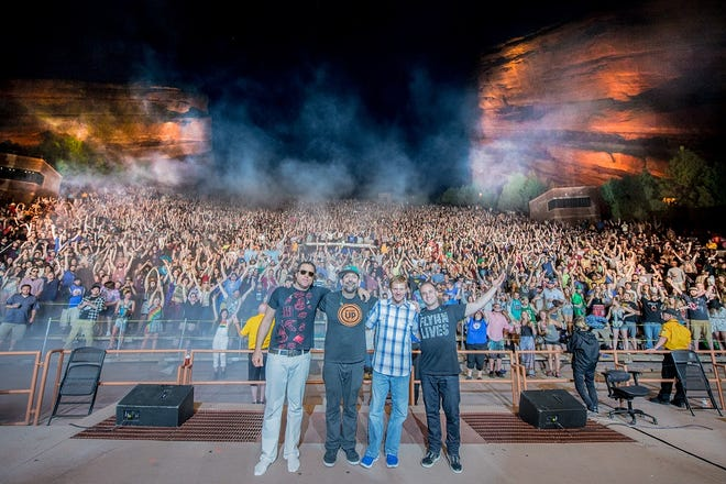 The Disco Biscuits are at the St. Augustine Amphitheatre on Friday as part of the Sing Out Loud Festival.