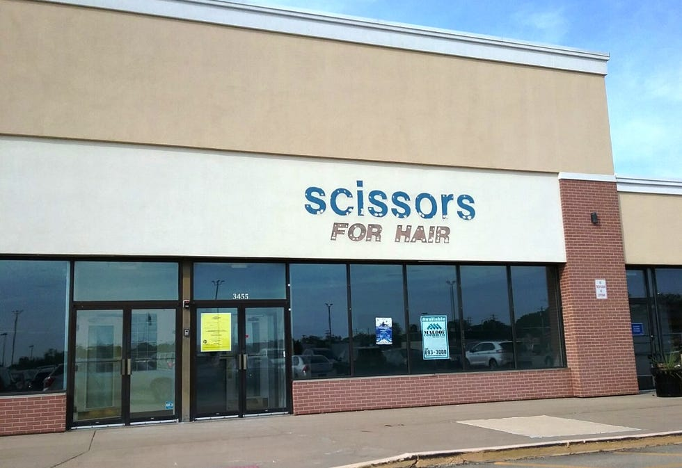 The former Scissors for Hair beauty salon at 3455 N. University St. in Peoria might soon become the local home base for Gopuff, a national consumer-goods and food-delivery service.