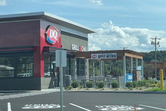 The new Dairy Queen Grill & Chill at 18 Sack Boulevard in Leominster is set to open on Saturday, Sept. 18.